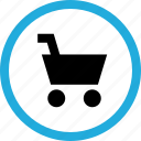add, cart, shopping