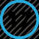 number, seventeen, numbers