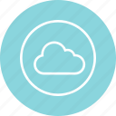cloud, safe, secure, weather icon