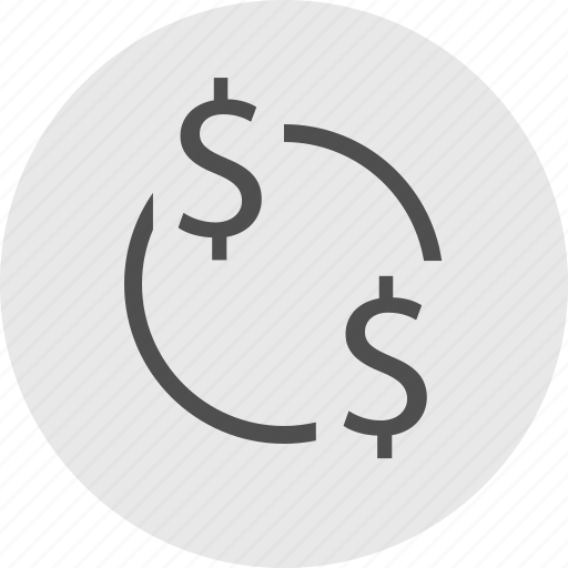 connect, connected, dollar icon