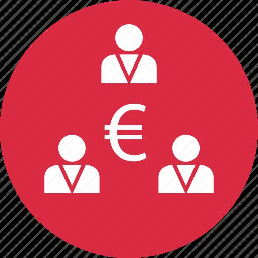 connect, euro, money icon