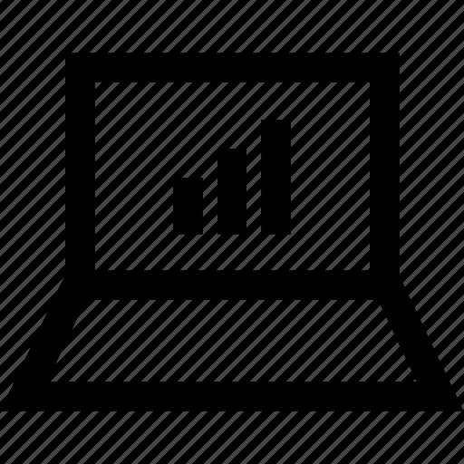 bars, data, graphic, web icon