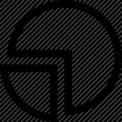 business, graph, money, pie, revenue, sales icon