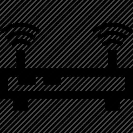 antenna, data, router, wifi icon