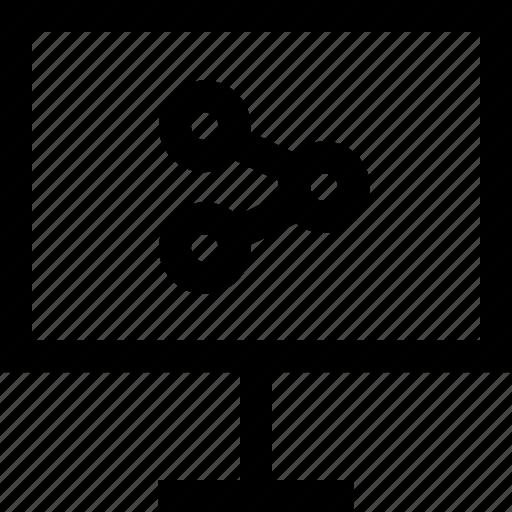 data, share, web icon