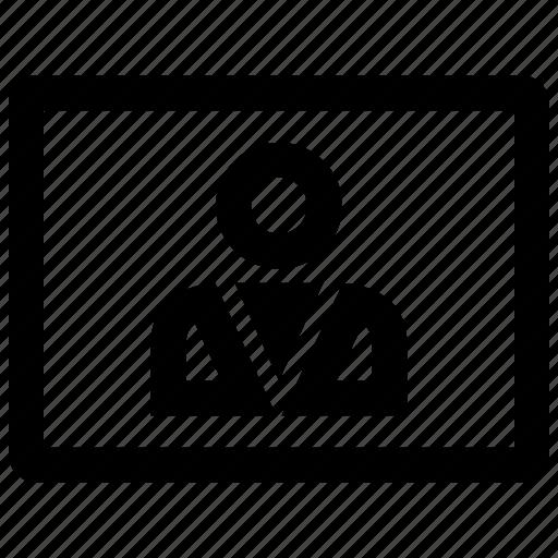 boss, person, user icon