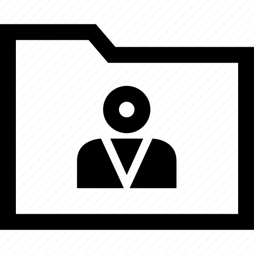 boss, graphic, person, user icon
