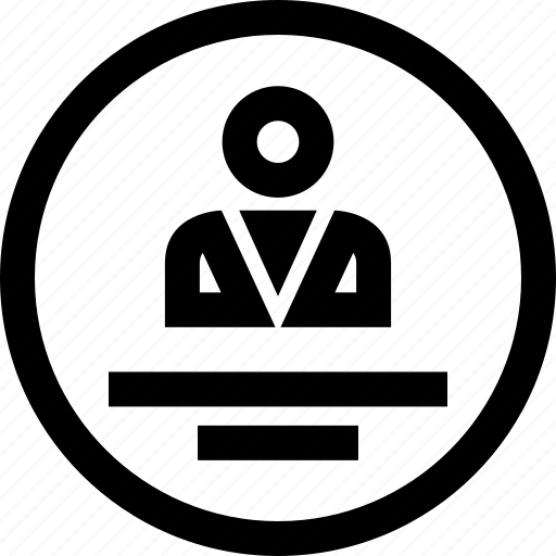 boss, man, person, user icon