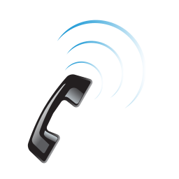 call, contact, phone, signal icon