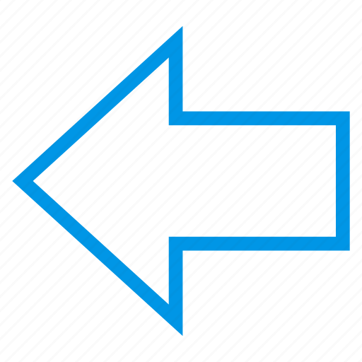 arrow, back, backward, direction, left, previous, rewind icon