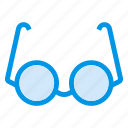 accessories, celebration, cinema, eye, eyewear, glasses, sun icon