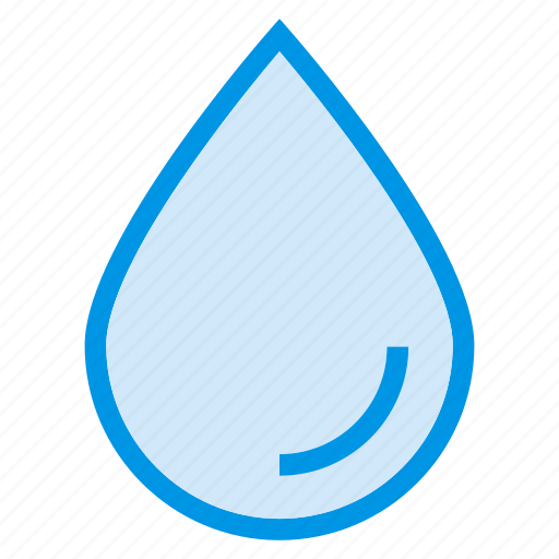 blood, drop, droplet, health, rain, water, weather icon