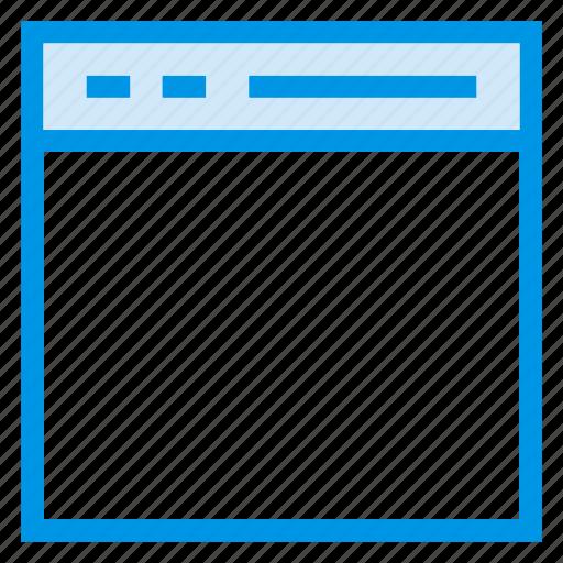 browser, computer, internet, online, webpage, website, window icon