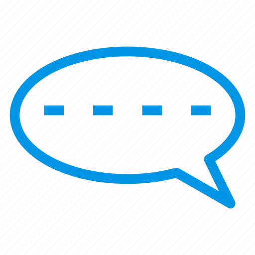 bubble, chat, comment, message, social, support, talk icon