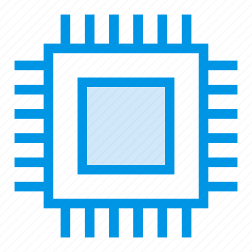 chip, computer, cpu, microchip, pc, processor, technology icon
