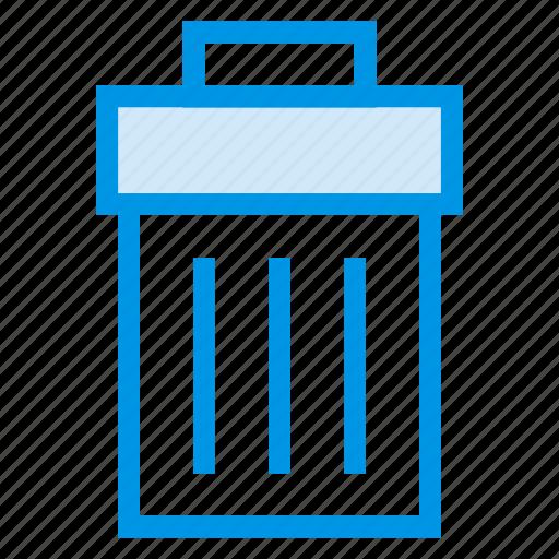 delete, denied, eraser, recycle, remove, trash, trashbin icon