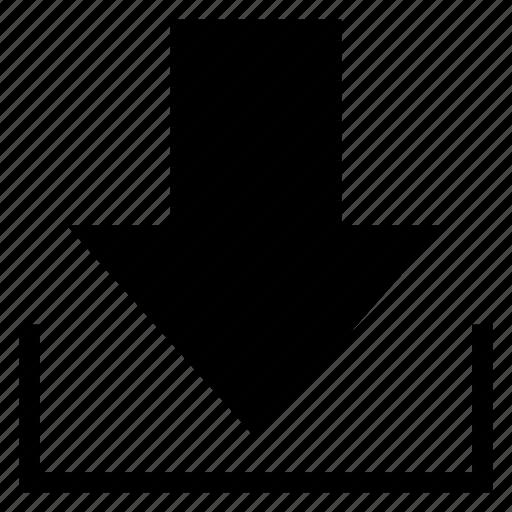 custom, data, database, document, download, restore, storage icon