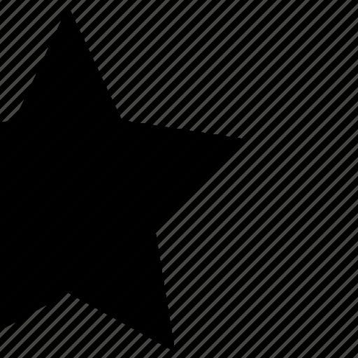 favorite, follow, like, night, reward, star, victory icon