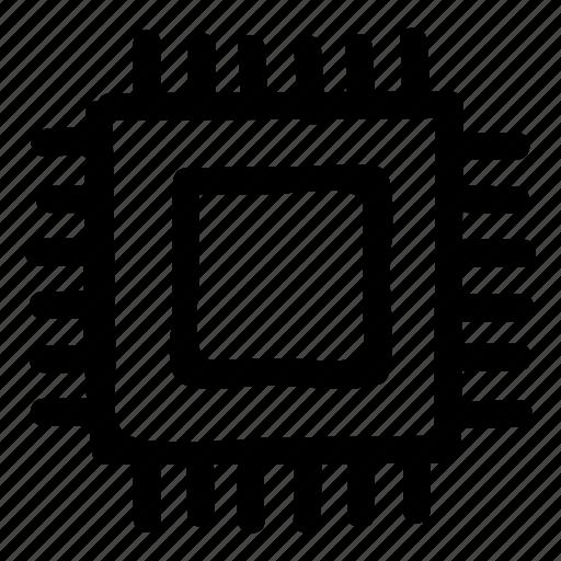 chip, computer, cpu, microchip, pc, processor, technology icon