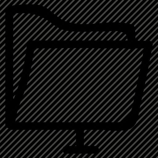 file, folder, networkfolder, open, public, share, sharing icon