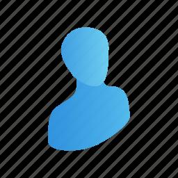avatar, business, head, human, isometric, profile, user icon
