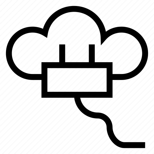 cloud, computing, hosting, interaction, interface, networking, plugin icon