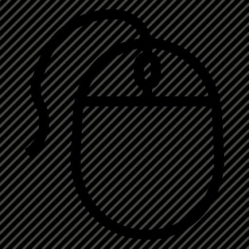 arrow, click, computer, cursor, devices, mouse, technology icon