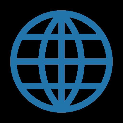 internet, line, world icon