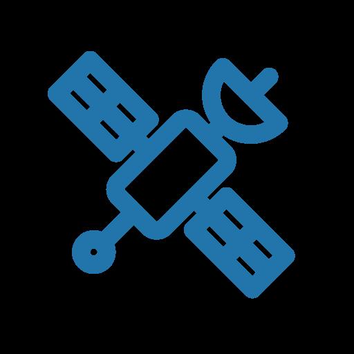 internet, line, satellite icon