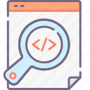 coding, description, meta icon