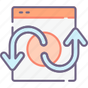hyperlink, link, redirect icon