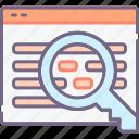 markup, schema, search icon