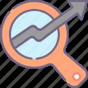 graph, search, seo icon