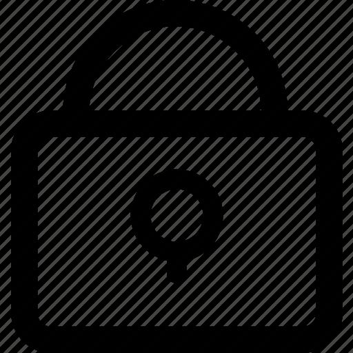 access, account, close, entrance, lock, login, personal icon