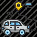 car, gps, location, pin, transport