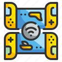 game, internet, play, station, technology icon