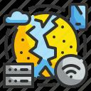 internet, networking, wifi, world, worldwide icon