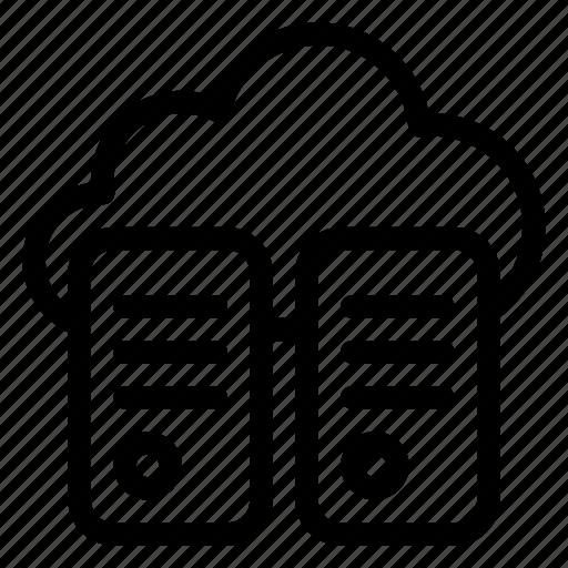Server, database, storage, data, cloud, network, internet icon - Download on Iconfinder