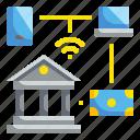 banking, finance, internet, online icon