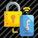 lock, padlock, secure, security, technology