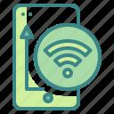 internet, phone, smartphone, technology, wifi