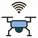 drone, internet, internet of things, of, thing