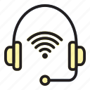 headset, internet, internet of things, of, thing