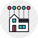automation, home, house, smart icon