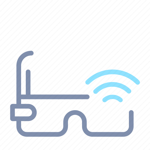 Connection, glass, internet, iot, smart, things, wireless icon - Download on Iconfinder