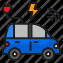 car, power, plug, wifi, charge