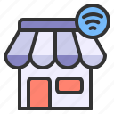 store, shopping, internet of things