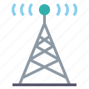 antenna, internet, radio, signal, wifi icon