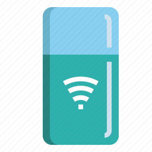Connect, cool, freezer, internet, refrigerator icon - Download on Iconfinder