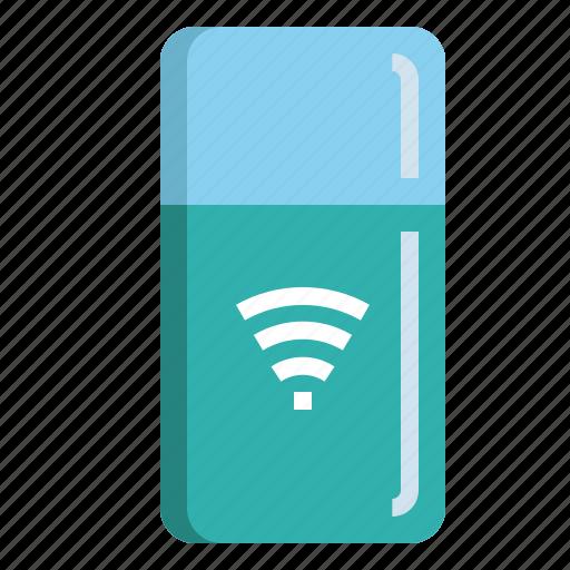 connect, cool, freezer, internet, refrigerator icon